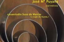 MÚSICA CON EL CLARINETE, POR JOSÉ Mª PUYANA