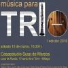 ESTRENOS EN CASA música para TRÍO