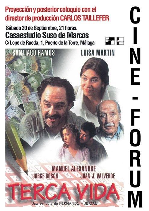 "Cine-Forum: ""TERCA VIDA"""