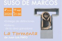 «LA TORMENTA» de Juan Luis Pinto, ganador del IV Certamen de Teatro Suso de Marcos. Premio Ciudad de Málaga 2020