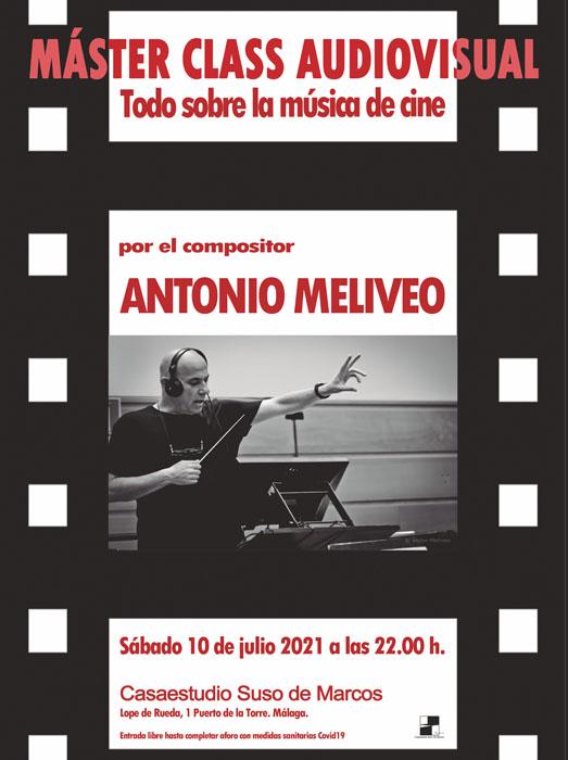 """Máster Class audiovisual """"Todo sobre la música de cine"""""""