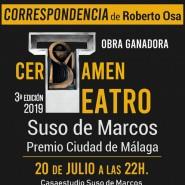 Estreno de teatro «CORRESPONDENCIA» de Roberto Osa