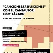 CANCIONES Y REFLEXIONES con Eloy Lázaro